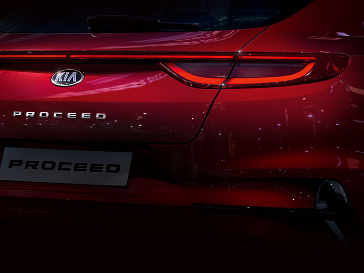 Kia Proceed rear closeup