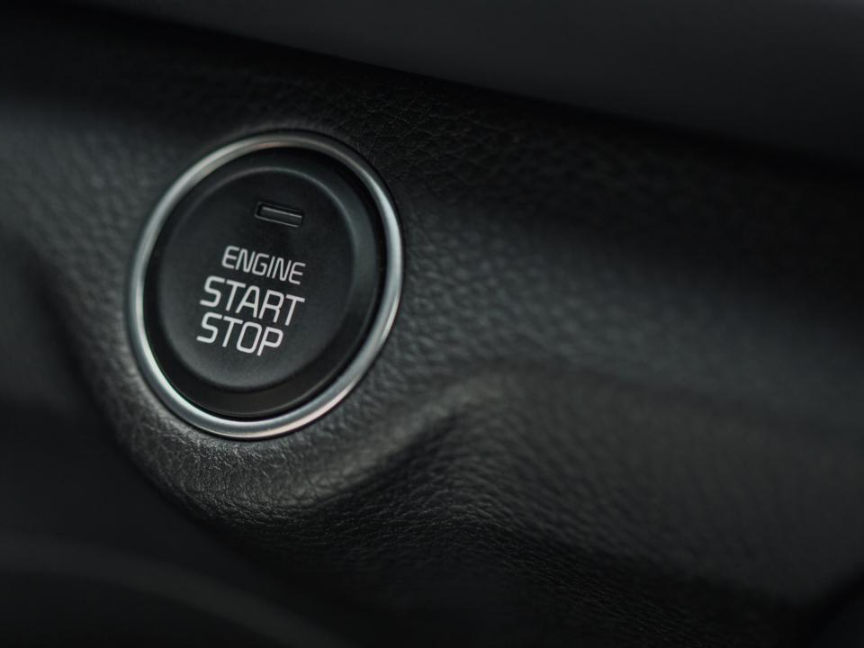 Buton pornire motor